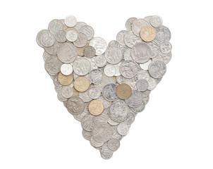 I love money in Australian coins