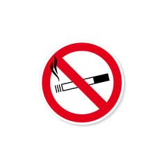 Rauchverbot rund