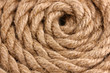 Skein of rope close up