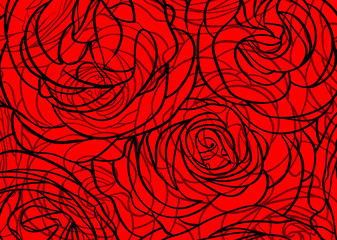 rose abstract background