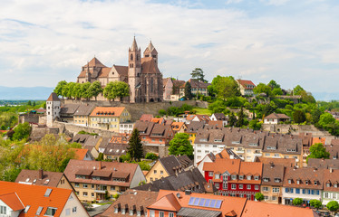 View of Breisach town -  Baden-Wurttemberg, Germany