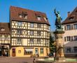 Schwendi Fountain in Colmar - Alsace, France