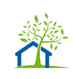 Fototapety Logo eco-house # Vector