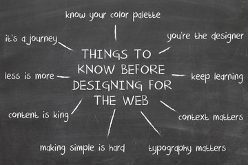 things you know before design for the web