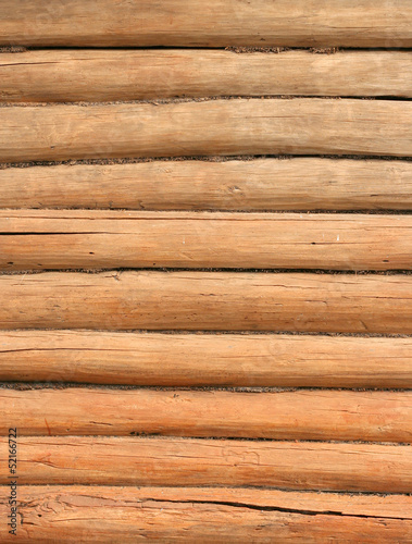 wooden log wall texture - vertical