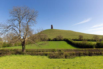 Glastonbury Tor Somerset England UK