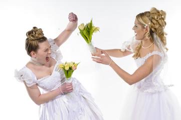 Fighting brides