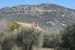 Country house at the foot of the mountain, Ciudad Real, Spain