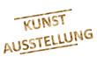 canvas print picture - Kunstaustellung...