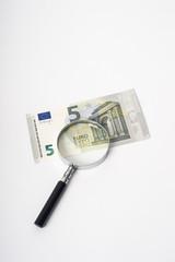 neuer 5 euroschein euro unter der lupe