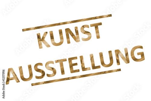 canvas print picture Kunstaustellung...