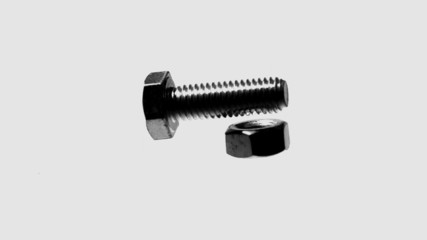 Screw and bolt falling