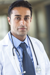 Asian Male Doctor Man