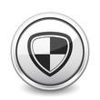 button gray shield