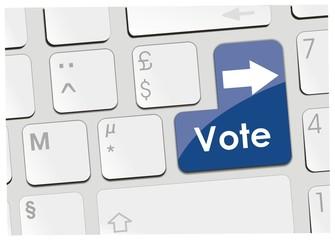 clavier vote