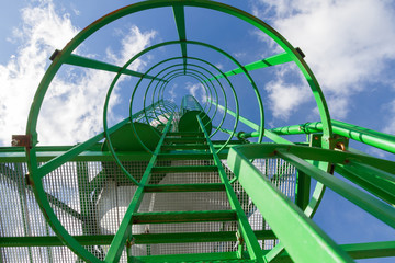 Escalera de Silo