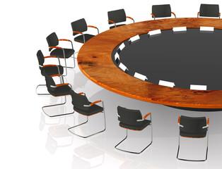 Runder Tisch Detail