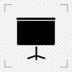 Projection Screen Icon