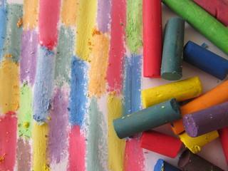la escuela y los colores