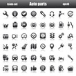 icons autoparts black reflex