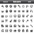 icons autoparts black reflex