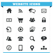 Website Icons Vector Set