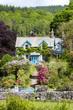 house with garden, Cumbria, England