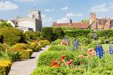 New Place garden, Stratford-upon-Avon, Warwickshire, England poster