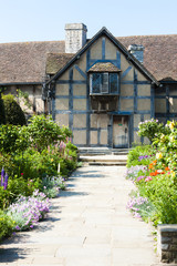 birthplace of William Shakespeare, Stratford-upon-Avon, Warwicks