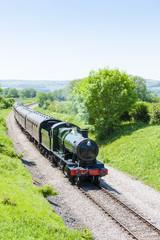 steam train, Gloucestershire Warwickshire Railway, Gloucestershi