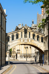 The Bridge of Sighs, Oxford, Oxfordshire, England