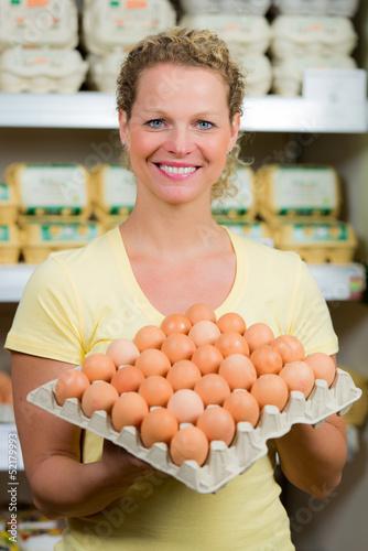eierverkäuferin