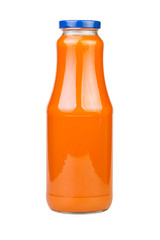 carrot juice bottle