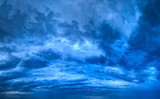 Background of Blue Texture of Skyscape poster