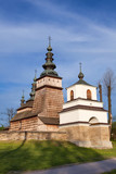 Wooden Orthodox church in Owczary from XVII Century, Poland