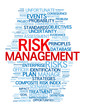"""RISK MANAGEMENT"" Tag Cloud (money finance investment strategy)"