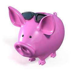 cochon tirelire paradis fiscal