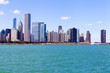 Chicago Skyline In Summer