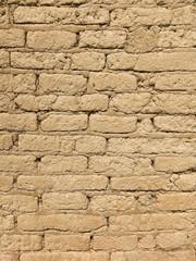 Old Adobe Brick Wall