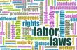 Постер, плакат: Labor Laws