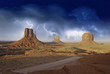 Rocks and Colors of Monument Valley