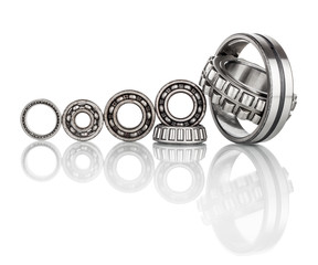 Composition of steel ball roller bearings