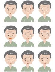 高齢者 パジャマ男性