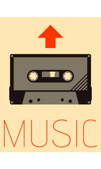 Vector Minimal Design - Music