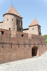The Barbican, medieval fortification in Warsaw, Poland