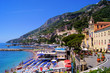 View over the beaches of Amalfi, Italy