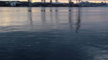 Reflecting cranes
