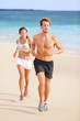 Couple Running - Man Fitness R...