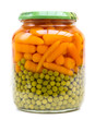 Can of Carrots and Peas