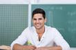 lächelnder student